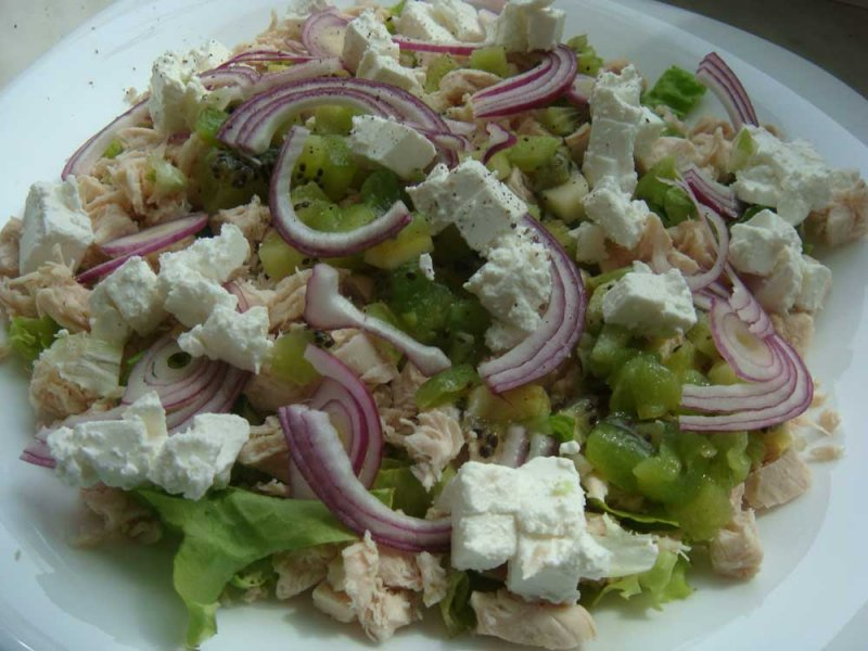 плитка ромб салат из подручных продуктов с фото патиссонов