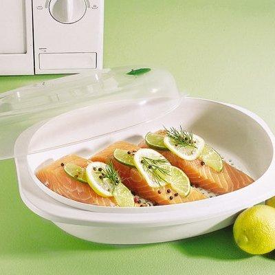 Филе рыбы с лимоном в микроволновке