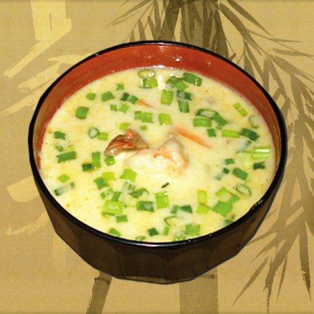 Цыпленок в грибном супе