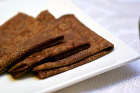Шоколадные блинчики рецепт.