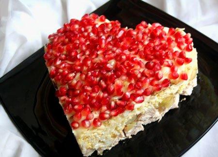 Рецепт Салат рубиновое сердце