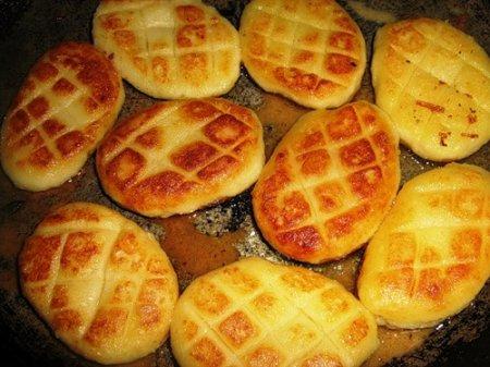 Рецепт Котлеты картофельные с луком