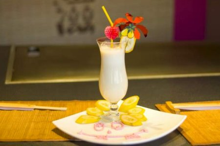 Рецепт Молочно-банановый коктейль