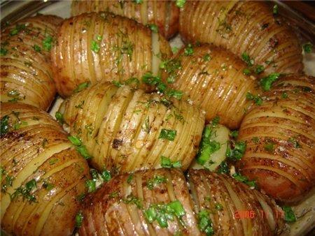 рецепты с картошки с фото в духовке
