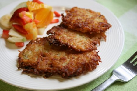 Рецепт Драники картофельные рецепт