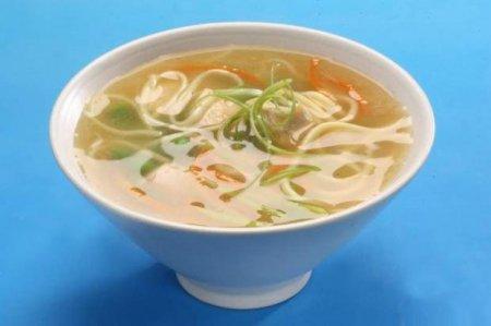 Готовим куриный суп с вермишелью
