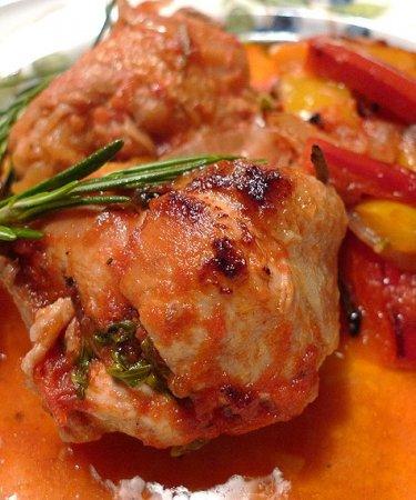 Рецепт Приготовление тушеной курицы со стручковой фасолью