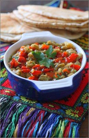Рецепт приготовления Арабского салата.