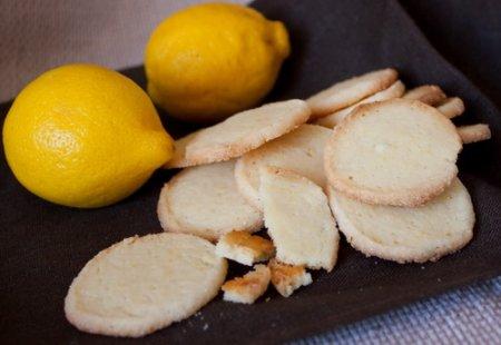 Лимонное печенье за 5 мин