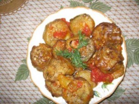 Рецепт Готовим баклажаны по сельскому типу