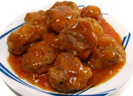 Рецепт Как приготовить тефтели в томатном соусе.