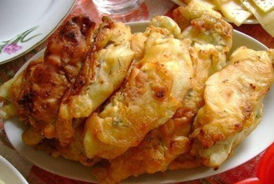 Рецепт приготовления из картофеля с начинкой