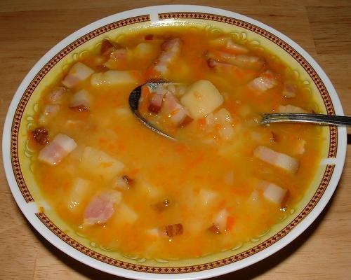 гороховый суп простые рецепт