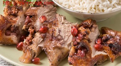 Рецепт Как приготовить баранину с ежевичным соусом