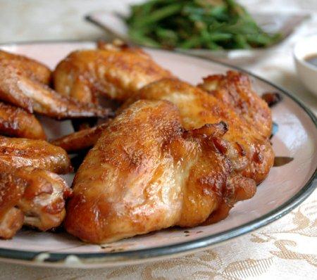 Рецепт приготовления куриных крылышек в соевом соусе