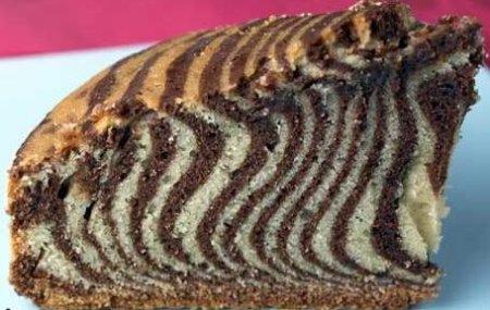 """Способ приготовления пирога """"Зебра"""""""