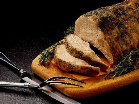 Рецепт Готовим свинину, шприцованную сливками