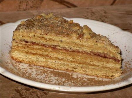 Рецепт Готовим торт на сковороде