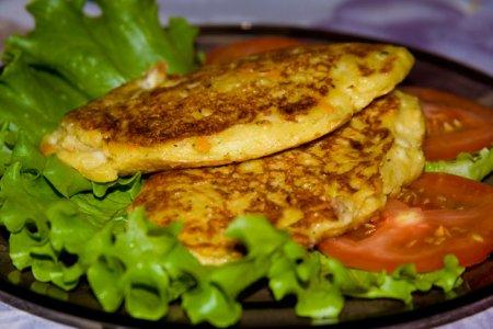 Рецепт Готовим оладьи со вкусом пиццы