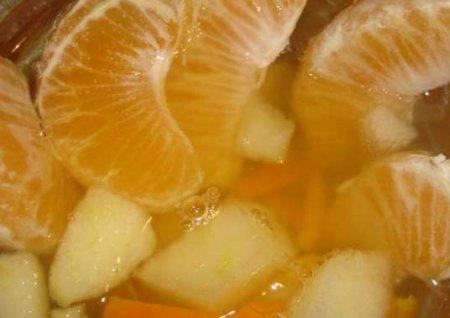 Рецепт Компот с яблоками и мандаринами