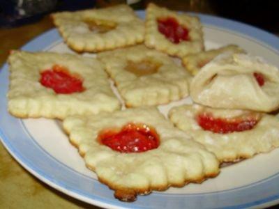 Готовим творожное печенье с мармеладом