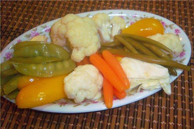 Рецепт турши баклажаны капуста