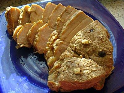 Рецепт Свинина в рукаве «Пряная»