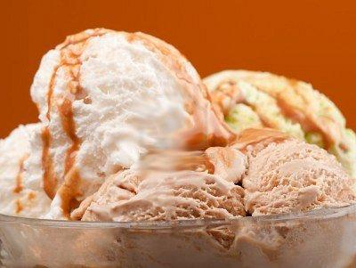 Рецепт Вкусное мороженое по-неаполитански