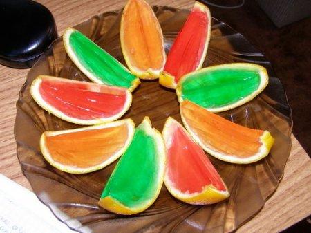 Рецепт Как приготовить желе в апельсинах