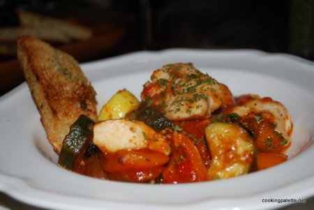 Готовим Рыбу с овощами по-средиземноморски