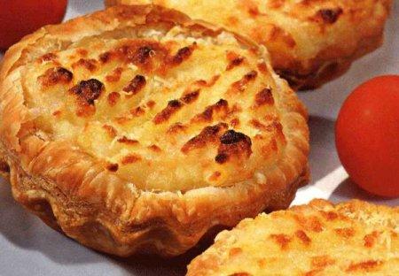 Рецепт Ажурные картофельные тарталетки способ приготовления