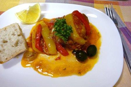 Рецепт Греческие фаршированные перцы
