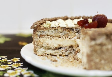 Рецепт Киевский торт в домашних условиях