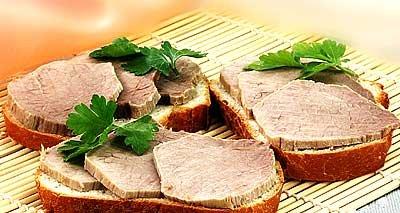 Рецепт Как приготовить бутерброд с говядиной