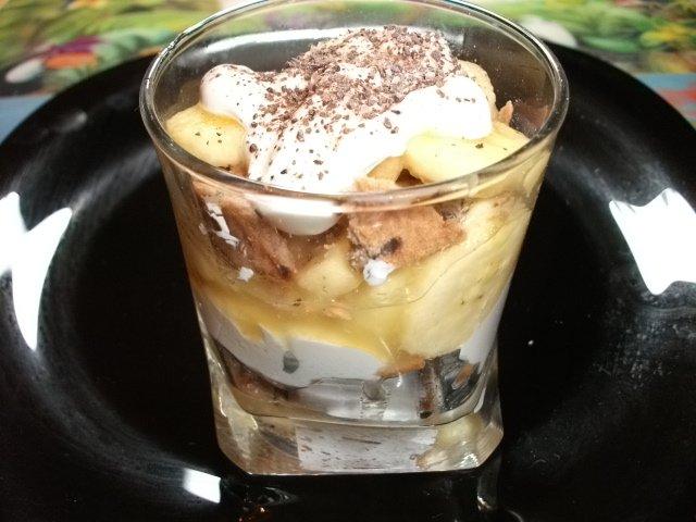 десерт с бананом рецепт с фото