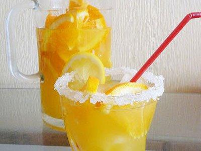 Рецепт Апельсиновый крюшон