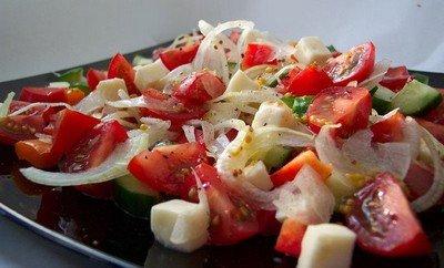 Рецепт Летний салатик с тунцом