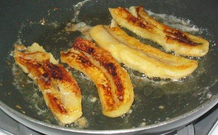 Как пожарить бананы