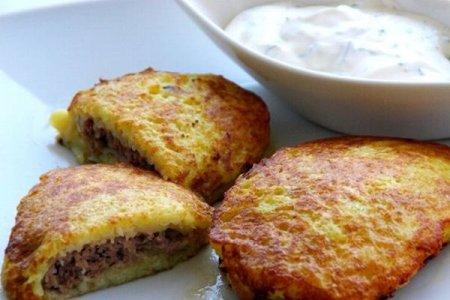Рецепт Колдуны, или драники с мясом