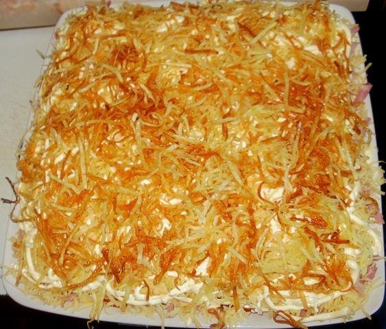 Салат блондинка рецепт с фото