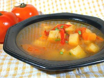 Готовим суп овощной с булгуром