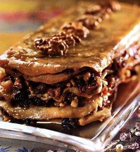 Рецепт Восточное пирожное с грецкими орехами