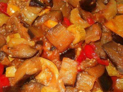 Рецепт Готовим овощное рагу