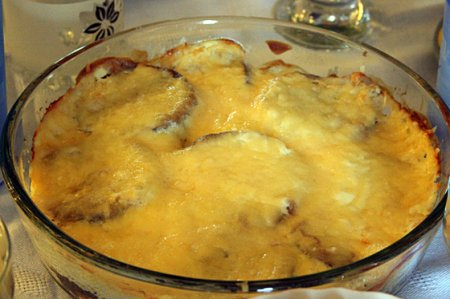 Рецепт Готовим баклажаны с сыром