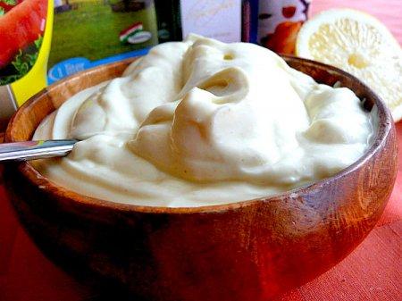 Рецепт Как приготовить майонез на молоке в домашних условиях