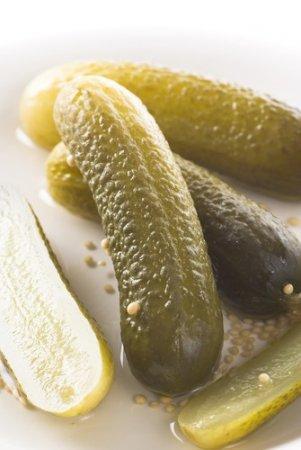 Рецепт Огурцы с горчицей