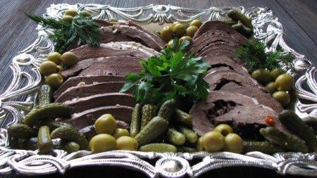 Рецепт Отварное говяжье сердце, простой кулинарный рецепт