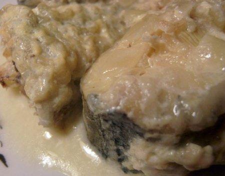 Рецепт Рыба по старо русски в молоке