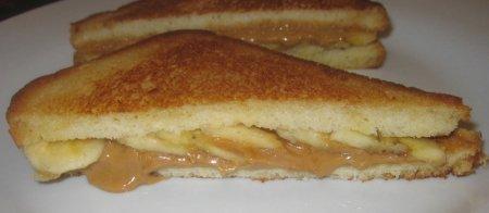 """Самый вкусный сандвич """"Элвис Пресли"""""""
