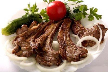 Рецепт Баранина на кости в духовке